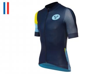 LeBram Romme Short Sleeve Jersey Pro Fit Blue