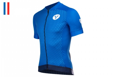 LeBram Grand Colombier Short Sleeve Jersey Slim Fit Blue
