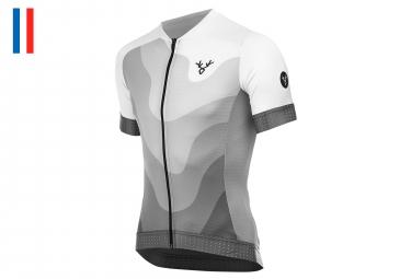 LeBram Izoard 2 Short Sleeve Jersey Slim Fit White
