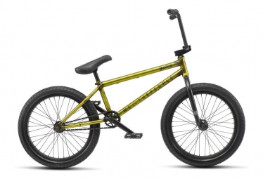 WeThePeople BMX Freestyle Justice Neon Yellow 2019