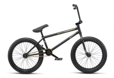 WeThePeople BMX Freestyle Reason Freecoaster Matt Black 2019