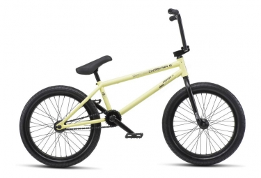 WeThePeople BMX Freestyle Reason Freecoaster Matt Matt Pastel Yellow 2019