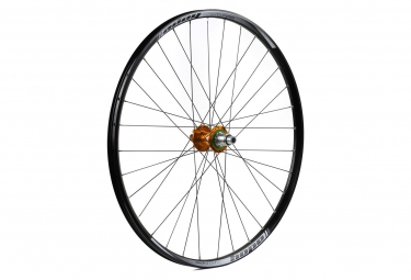 Roue arriere hope enduro pro 4 29 boost 12x148mm orange shimano sram