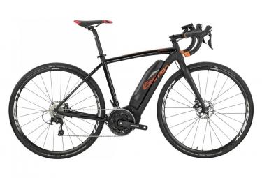 Gravel Bike Électrique BH Rebel GravelX Shimano 105 11V 2019 Noir / Orange