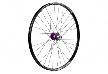 Roue arriere hope enduro pro 4 27 5 9x135 12x142mm violet shimano sram