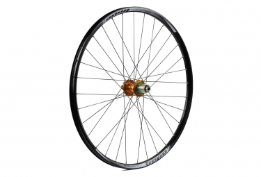 Roue arriere hope enduro pro 4 26 9x135 12x142mm orange shimano sram