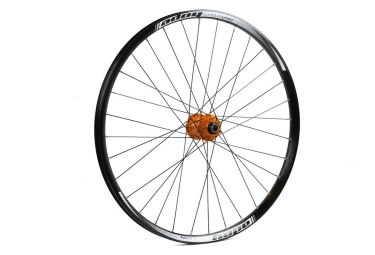 Roue avant hope tech enduro pro 4 26 9 15x100mm orange