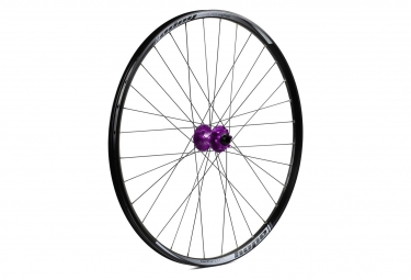 Roue avant hope enduro pro 4 27 5 9 15x100mm violet