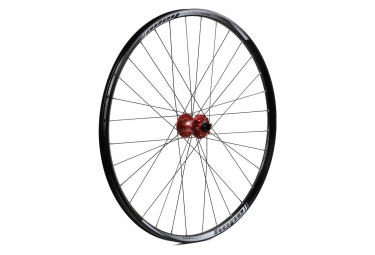 Hope Enduro Pro 4 Front Wheel 29'' | 9/15x100mm Axle Red