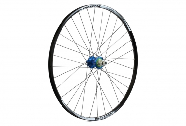 Roue arriere hope tech xc pro 4 29 boost 12x148mm bleu shimano sram