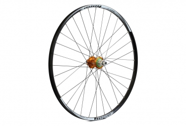 Roue arriere hope tech xc pro 4 29 boost 12x148mm orange sram xd