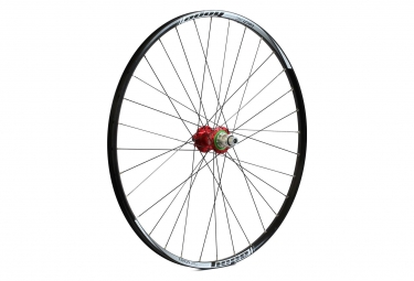 Roue arriere hope tech xc pro 4 29 boost 12x148mm rouge sram xd