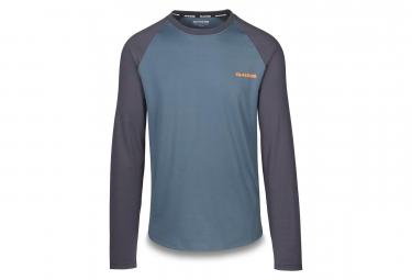 Image of Dakine dropout maillot manches longues slate bleu gris xl