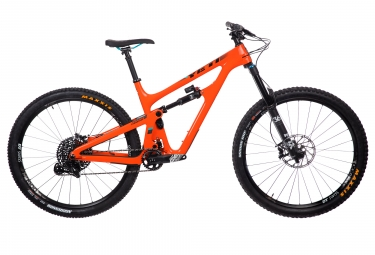 Velo tout suspendu yeti cycles sb150 29 carbon sram gx eagle 12v orange 2019 l 180 191 cm