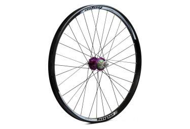 Roue arriere hope tech dh pro 4 27 5 9x135 12x142mm violet sram xd