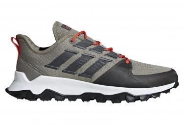 Zapatillas adidas running KANADIA TRAIL para Hombre Gris / Negro / Gris / Negro