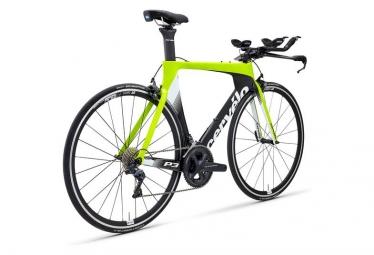 Cerv lo P3 Triathlonrad Shimano Ultegra 8000 11S Gelb / Schwarz 2019