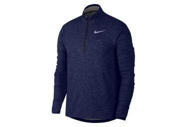 Nike Midlayer 1/4 zip Sphere Element Blue Men