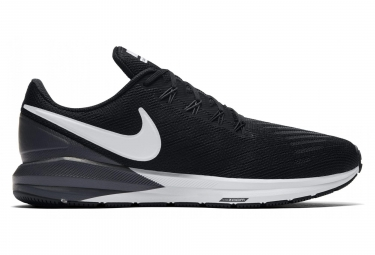 Nike Air Zoom Structure 22 Black White Men