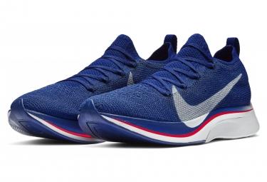 Nike Vaporfly 4% Flyknit Blue Pink Unisex