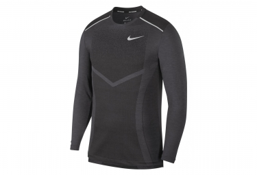 Nike Long Sleeves Jersey TechKnit Ultra Black Men