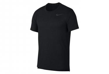 Maillot Manches Courtes Nike Dri-FIT Breathe Noir Homme