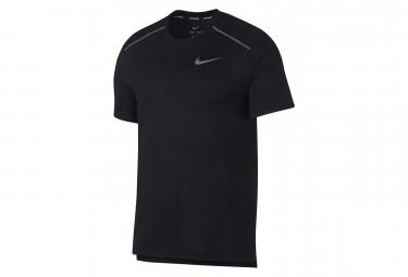 Nike Short Sleeves Jersey Rise 365 Black Men