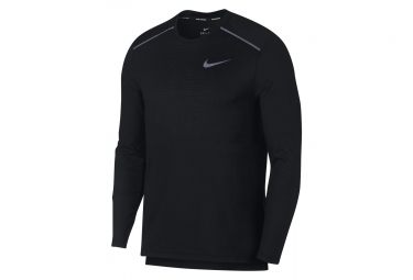 Nike Long Sleeves Jersey Rise 365 Negro Hombres Xl