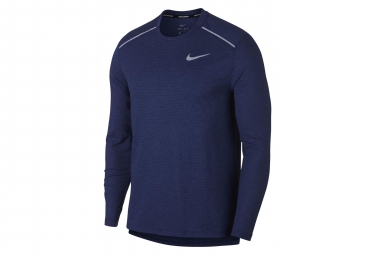 Nike Long Sleeves Jersey Rise 365 Blue Men