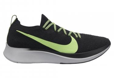 Zapatillas Nike Zoom Fly Flyknit para Hombre Negro / Verde / Fluo