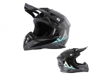 Trickx Spike Kids Helmet Black Blue