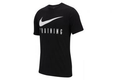 Nike Short Sleeves Jersey Dri-FIT Training Black Men