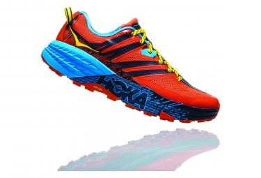 Hoka Trail Shoes Speedgoat 3 Orange Blue
