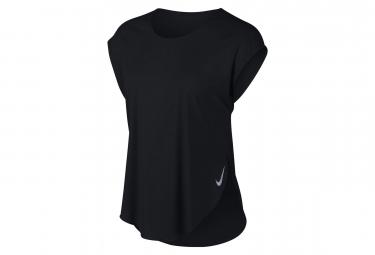 Nike Short Sleeves Jersey City Sleek Black Women