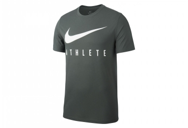 Nike Short Sleeves Jersey Dri-FIT Athlete Vert Kaki Men