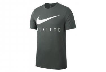 Camiseta de manga corta Nike Dri-FIT Athlete Vert Kaki para hombre