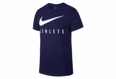 Nike Short Sleeves Jersey Dri-FIT Athlete Blue Men