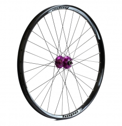 HOPE DH PRO 4 Front Wheel 27.5'' | 9x100/20x110 mm Axle - Purple