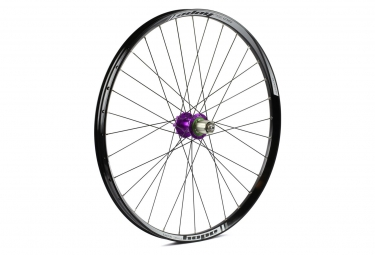 Roue arriere hope tech 35w pro 4 27 5 9x135mm 12x142mm violet shimano sram