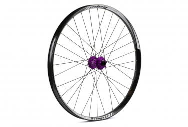 Roue avant hope tech 35w pro 4 27 5 15x100mm violet