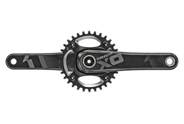 Pedalier sram xo1 dh bb30 83mm 32 dents noir 165