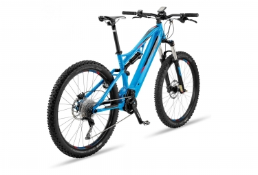 MTB Eléctrica Doble Suspensión BH Atom Lynx 5.5 27.5'' Plus Bleu / Noir 2019