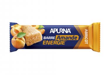 Barre Énergétique Apurna Abricot-Amande 25g