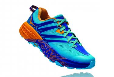 Chaussures de Trail Femme Hoka One One Speedgoat 3 Bleu / Orange