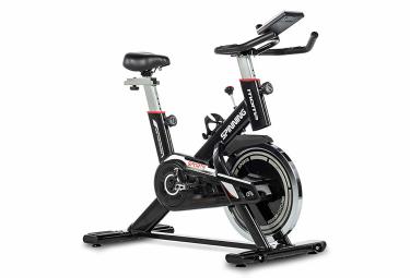 Vélo d'appartement Moma Bikes Spinning Roue 24kg, Capteur Cardiaque