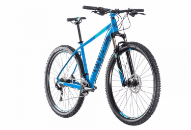 VTT Semi Rigide CUBE 2018 Attention SL 27.5'' Shimano Deore M6000 10V Bleu