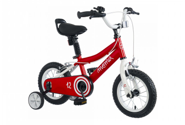 Velo enfant moma bikes 12 3 5 ans rouge
