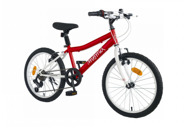 Velo enfant moma bikes 20 shimano 7v 6 9 ans rouge