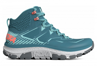 Hoka Outdoor Shoes Sky Toa Blue Green Donna