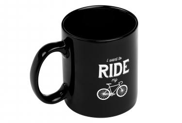 Mug Marcel Pignon I Want To Ride Noir